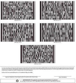 How To Use The Barcode Application Form Go4visa Com